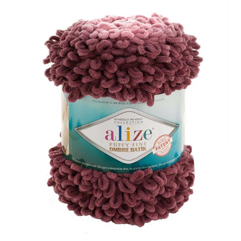 Alize Puffy Fine Ombre Batik El Örgü İpi 7276