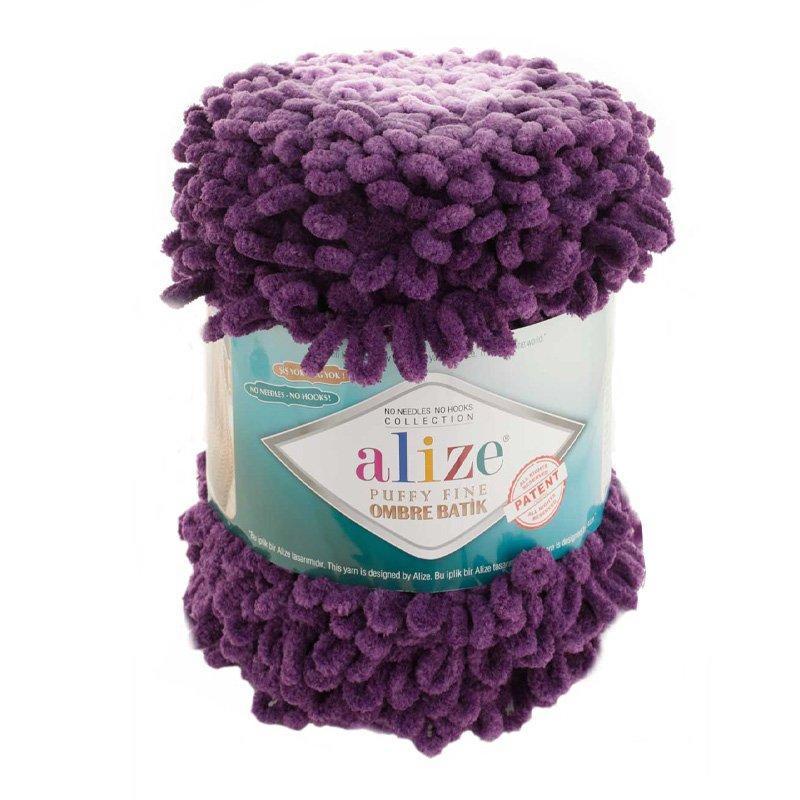 Alize Puffy Fine Ombre Batik El Örgü İpi 7277