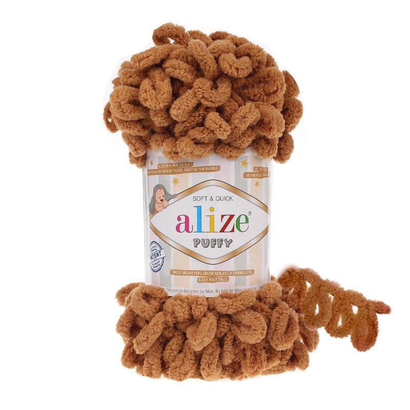 Alize Puffy Deve Tüyü El Örgü İpi 179